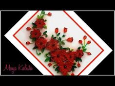 Diy paper quilling flower card how to make paper quilling flower diy paper quilling flower card how to make paper quilling flower frame paper quilling frame youtube flores pinterest quilling flower frame and mightylinksfo