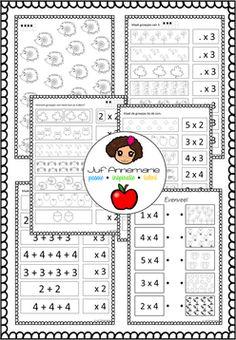 Herhaald optellen tafel van 2, 3 en 4 juf Annemarie
