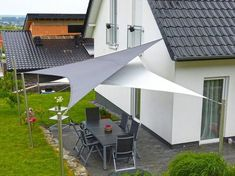 8 Fabulous Tips and Tricks: Roofing Top Rooftop Bar roofing top rooftop bar.Stained Glass Roofing concrete shed roofing.Easy Shed Roofing. Patio Sails, Patio Roof, Pergola Patio, Backyard Patio, Pergola Kits, Pergola Ideas, Roof Ideas, Backyard Shade, Outdoor Shade