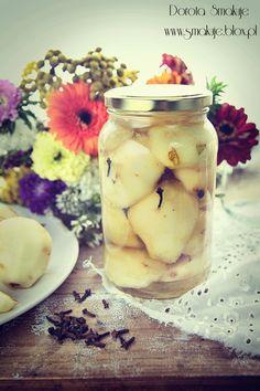 Kompot z gruszek Oatmeal, Dairy, Favorite Recipes, Cheese, Breakfast, Food, The Oatmeal, Rolled Oats, Hoods
