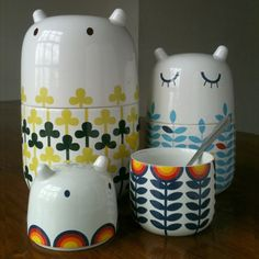 Storage jars by Camilla Prada