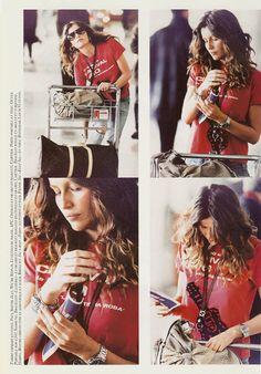 Laetitia Casta Vogue Paris .