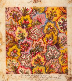 "robincharlotte: "" Textile design, factory of Jean-Michel Haussmann, Colmar, 1797 """