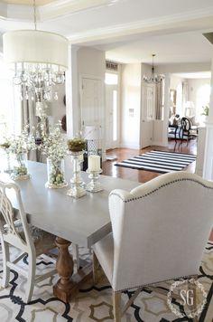 SPRING HOME TOUR 2016-dining-room-to-living-room-stonegableblog-2