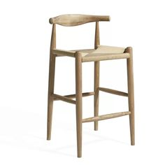 The Elbow bar stool Hans J. Wegner is a quality bar stool suitable for every venue. The stool is inspired by the collection. 30 Bar Stools, Modern Bar Stools, Swivel Bar Stools, Bar Chairs, Counter Stools, Modern Chairs, Bar Counter, High Chairs, Kitchen Stools