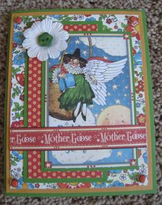 Graphic 45 - Mother Goose - Handmade Card