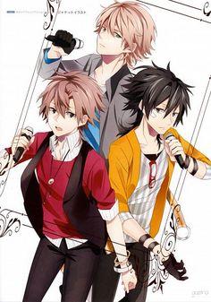Ryo-kun, Ito Kashitaro and Soraru ^u^
