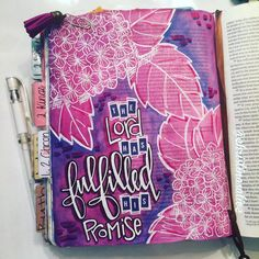 Bible Journaling by Lamentations, Faith Bible, Illustrated Faith, Art Journal Inspiration, Daily Inspiration, Scripture Verses, Bible Art, Abstract Flowers, Lord