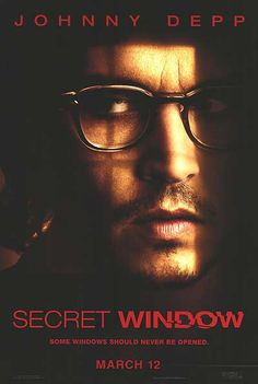Secret Window is a 2004 American psychological thriller film starring Johnny Depp and John Turturro. It was written and directed by David Koepp, based on the novella Secret Window, Secret Garden by Stephen King. Johnny Depp Secret Window, John Depp, John Turturro, Here's Johnny, Photo Portrait, Celebrity Portraits, Martin Scorsese, James Mcavoy, Great Movies