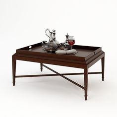 Find This Pin And More On 3D Models,3D Art. Barbara Barry Tray Coffee Table  ...