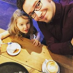 Coffee date with my favourite girl. #dadlife #parenting