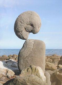 Adrian Gray - amazing balancing stones artist working in the UK