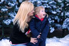 The Mother Of A Terminally Ill Toddler Turned Their Garden Into A Winter Wonderland In Case He Never Sees Snow Again