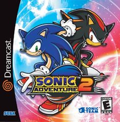 I can't show off the first Sonic Adventure without giving credit to another one of my FAVORITE Dreamcast games..  Sonic 2 was also on the Gamecube (which I played it on more because of the better multilayer)  But it's story, AMAZING SOUNDTRACK.. (City Escape.. Enough said.. )  Never will leave my mind.
