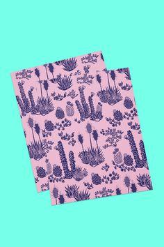 Postales promocionales para la marca  Flor de Chile (inspirada en Flora Chilena) by A3 Press Riso Estudio