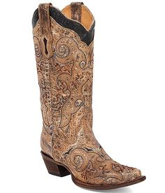 Corral Barstow Cowboy Boot at Buckle.com