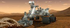 NASA's Curiosity on Mars
