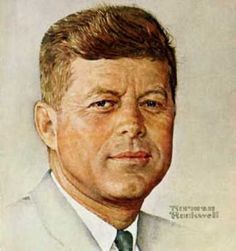 Portrait of John F.Kennedy - Norman Rockwell