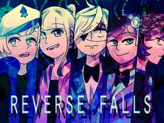 Reverse Falls Cover by DarkCatz.deviantart.com on @DeviantArt