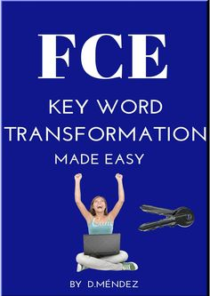 SYNOPSIS This book has been written to help students prepare for the Key Word Transformation part of the Use of English paper (grammar) of Cambridge English FCE exam. It will give you a good understanding of the different grammatical structures com. English Exam, English Book, English Study, English Words, English Grammar, Teaching English, Learn English, English Teachers, Word Transformation