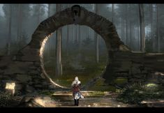 Gate, Majed Al Harbi on ArtStation at https://www.artstation.com/artwork/bllWn