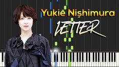 Yukie Nishimura - Letter (Tegami) [手紙] [Synthesia Piano Tutorial][No Background] Piano Tutorial, Tutorials, Album, Lettering, Music, Musica, Musik, Drawing Letters, Muziek
