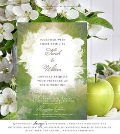 Green-Spring-Greenery-Wedding-Invitation-Watercolor-Artistic-Paint-Splatter-Wedding-Invitation-Peridot-Wedding-Invite-by-Soumya's-Invitations