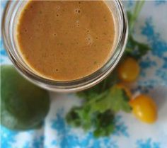 Spicy Lime and Tomato Dressing