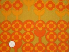 Verdure by Peter Hall for Heals, in orange colourway.