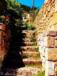 Ελένη Τράνακα: Πικριδιώτισσα, Ζάκυνθος - Pikridiotissa, Zakynthos Sidewalk, Side Walkway, Walkway, Walkways, Pavement