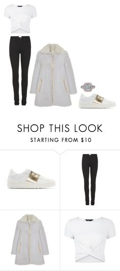 """Untitled #219"" by kenzieskelton ❤ liked on Polyvore featuring Valentino, Acne Studios, Giambattista Valli and New Look"