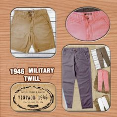 Our Signature Military Twill