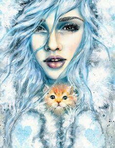 Traditional Illustrations by Tanya Shatseva www.facebook.com/shatseva