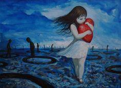 cuore e bimba