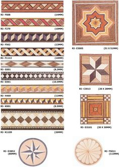 Moulding, Base Board and Wood Inlay Woodworking Joints, Woodworking Patterns, Woodworking Crafts, Wood Veneer, Inlay Wood, Wood Inlay Ideas, Inlays In Wood, Rustic Crafts, Wood Crafts
