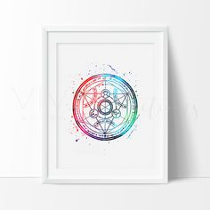 - Description - Specs - Processing + Shipping - Create your own boy cave with our impressionistic + splatter watercolor style handmade art prints, featuring inspirational quotes and some of your favor Fullmetal Alchemist Brotherhood, Manga Anime, Anime Art, Der Alchemist, Alphonse Elric, Fan Art, Nursery Art, Watercolor Art, Wall Art Prints
