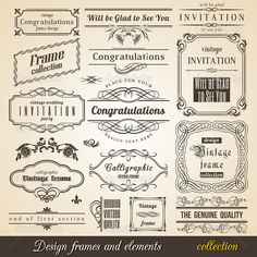 how to use corner flourishes - Google Search