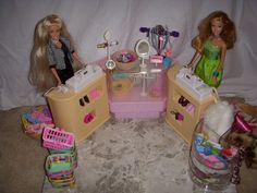 Checkout Counter Plastic Shelving Units, Barbie Store, Counter, Toddler Bed, Child Bed, Plastic Shelves