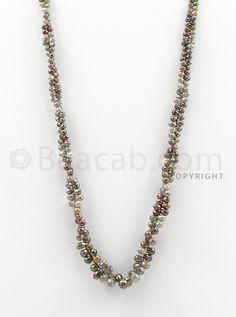 "3.30 to 8.70 mm - 1 Line - #""Diamond Drop Beads"" - 14 inches (DiaDrp1009)"