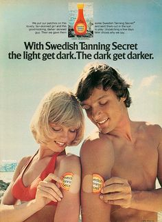 Retro Advertising, Retro Ads, Vintage Advertisements, Vintage Ads, Tanning Tips, Tanning Bed, Old Ads, The Good Old Days, Print Ads