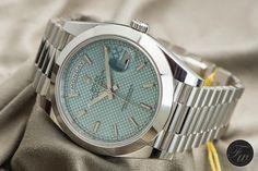 2015 Rolex Day-Date 40mm in platinum - ~$63,385 USD
