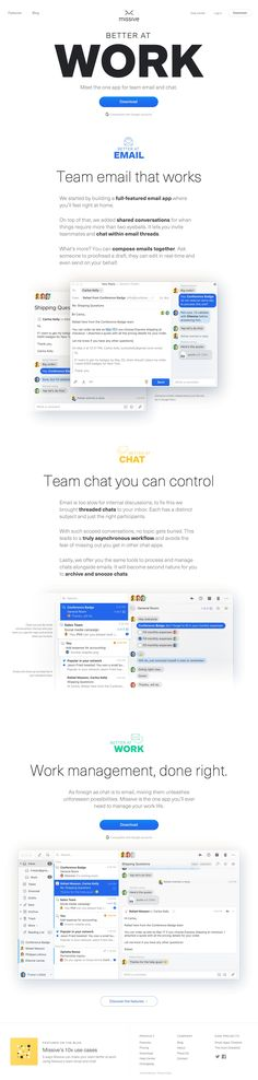 Missive - The one app for team email and team chat