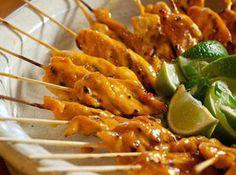 Skewered Chicken with Orange Glaze #food #yummy #delicious