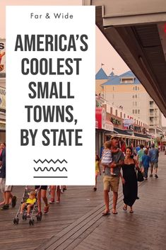 While millions spend big dollars to pack themselves like lemmings into big-city attractions, America's wonderful small towns offer a carefree getaway at a fraction of the cost. Oh The Places You'll Go, Places To Travel, Travel Destinations, Au Pair, Travel Goals, Travel Tips, Travel Ideas, Travel Packing, Travel Backpack