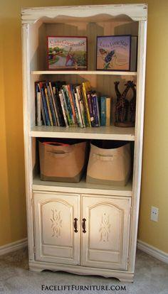 Entertainment Center Repurposed into Toy Cabinet & Entertainment Center Repurposed into Toy Cabinet | Toy storage ...