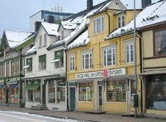 downtown Tromso Norway