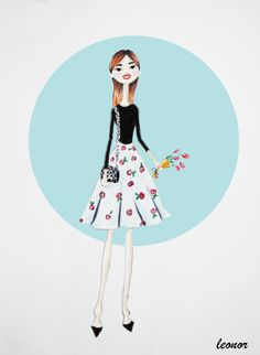 Fashion Leonor #fashionillustration #illustration #fashion