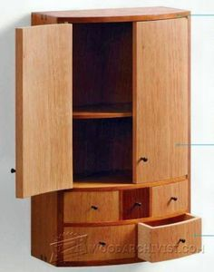 Japanese Cabinet Plans - Furniture Plans and Projects   WoodArchivist.com