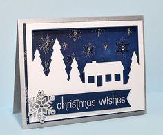 Snow Scene Card Cover