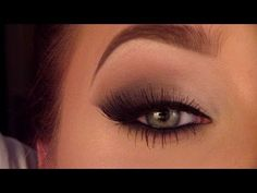 Probably the BEST (let me repeat, the BEST) Cat/smokey eye I have ever seen. Her videos are AH-MAZING!!!! I am sooooo doing this! Looooove it!!!